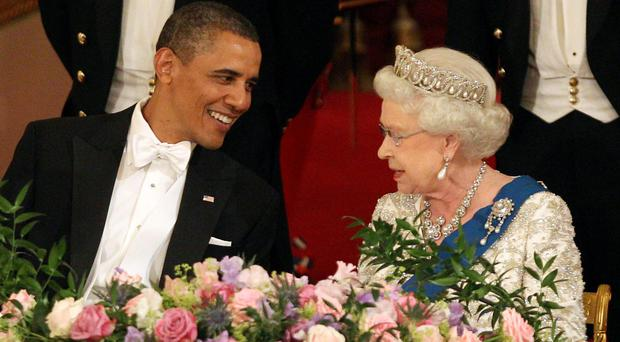 Barack Obama has hailed the monarch as her 90th birthday approaches