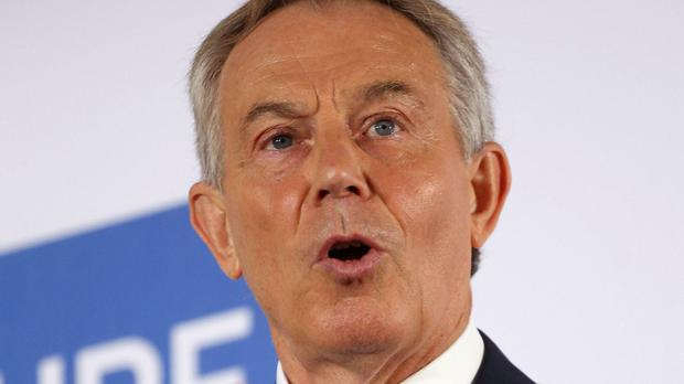 Tony Blair says military might must be used to eliminate Islamic State