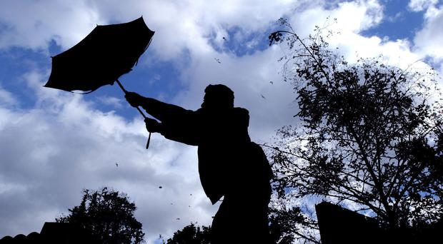 A nationwide weather warning for wind has been issued