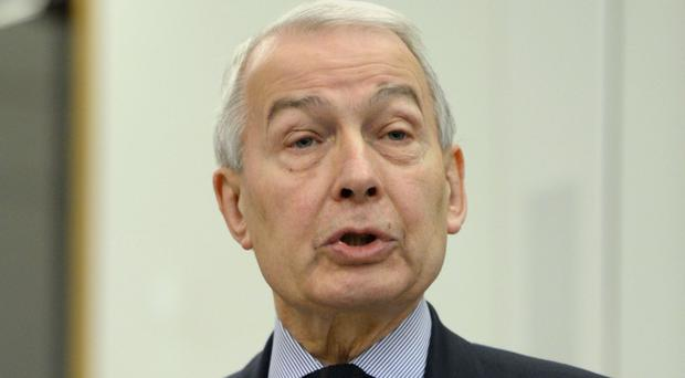 Frank Field said funeral support payments 'fall far short of covering even a basic funeral'