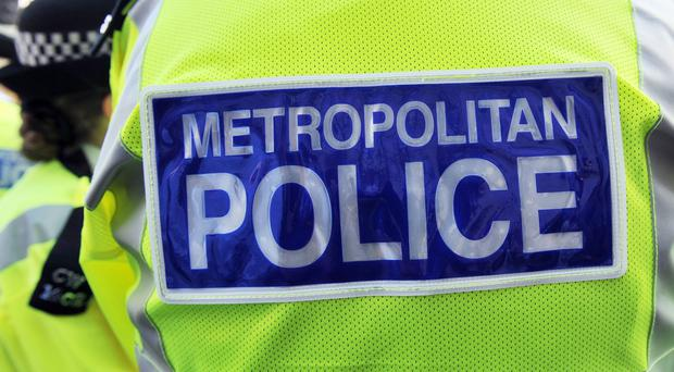 The Metropolitan Police said two male youths were arrested close to the scene and were in custody