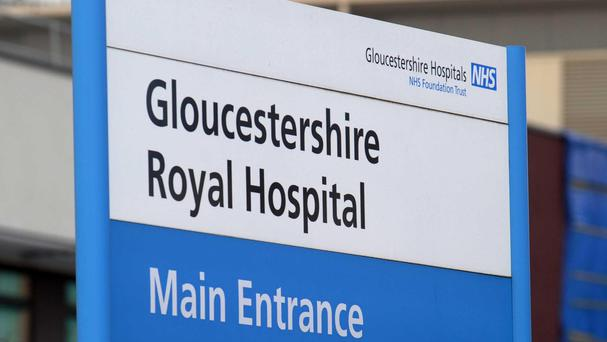 The girl was airlifted to Gloucestershire Royal Hospital where she later died