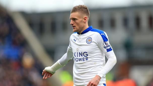 Leicester City player Jamie Vardy said the threatening tweets were 'shocking and vile'