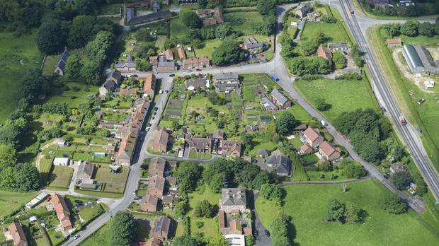 West Heslerton village near Scarborough is on same for an estimated £20m (Cundalls/PA)