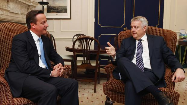 David Cameron are Carwyn Jones will hold face-to-face talks