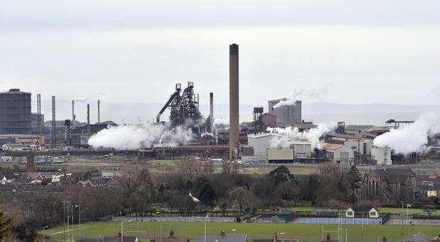 The UK's largest steelworks is in Port Talbot