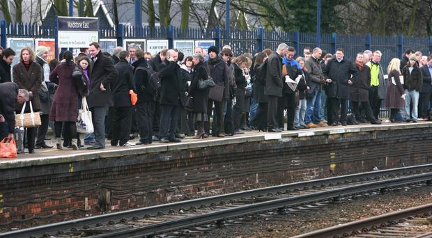 Passengers faced a day of travel misery