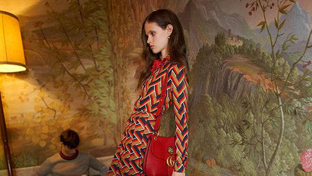 The advertising regulator found the Gucci model appeared 'unhealthily thin' and 'gaunt' (Gucci/PA Wire)