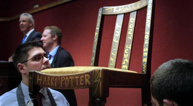 The chair has been sold for a third time at auction