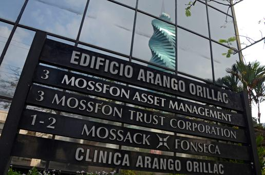 The outside of the Mossack Fonseca offices in Panama