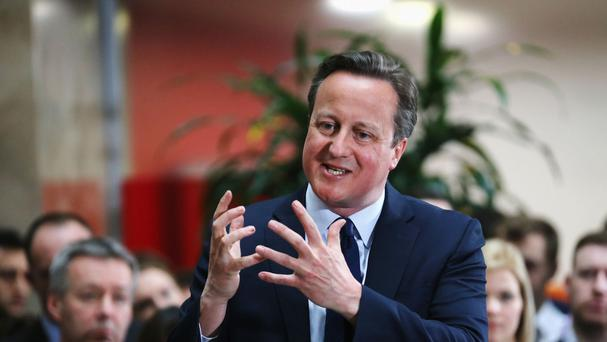 David Cameron will urge young people to vote at the formal launch of the Brighter Future IN campaign