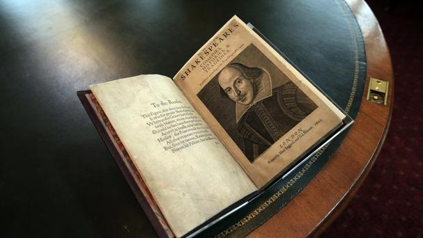 A first folio of William Shakespeare's collected plays, like this one, has been discovered at a stately home on the Isle of Bute