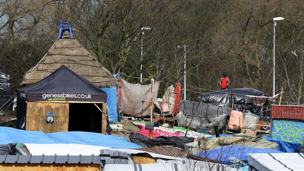 The boy had been living in the Calais camp known as the Jungle