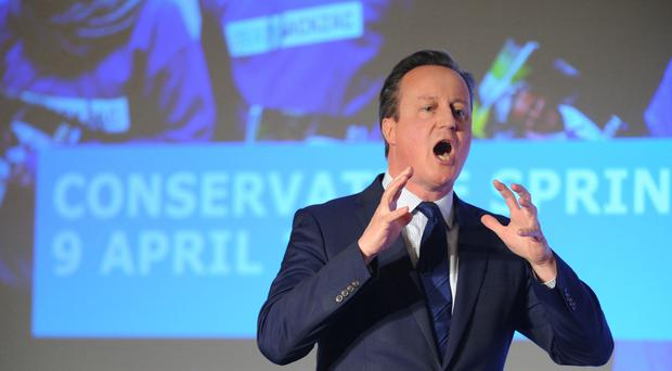 Mr Cameron paid £76,000 in tax in 2014-15, figures show