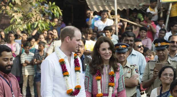 William and Kate are continuing their tour of India