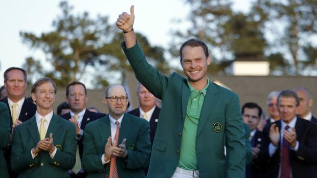 Willett is the first Briton to win the title since Nick Faldo 20 years ago (AP)