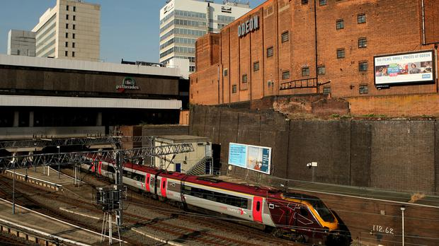 The signal power failure meant trains could not enter or exit the south end of Birmingham New Street station