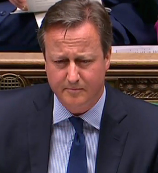 Changes: David Cameron