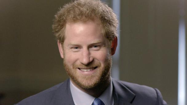 Prince Harry on the BBC's Elizabeth At 90 - A Family Tribute (Jonathan Partridge/Crux Productions//BBC/PA)