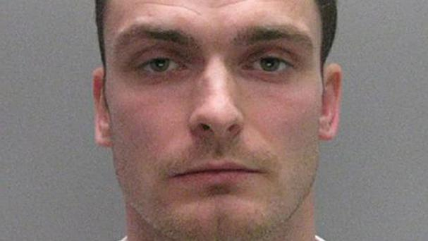Adam Johnson is serving a six-year jail term (Durham Police / PA)