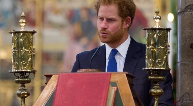 Reading: Prince Harry