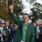 Masters champion Danny Willett.