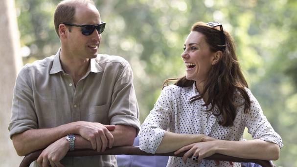 The Duchess of Cambridge has shown off her safari style