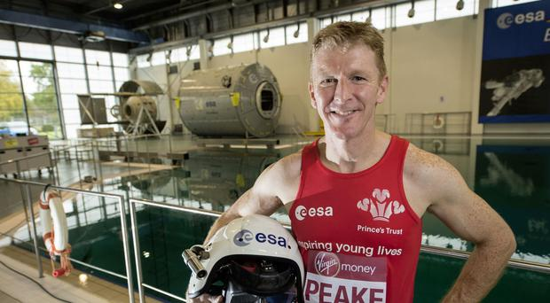 Tim Peake will run the Virgin Money London Marathon from the International Space Station
