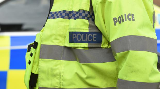 South Yorkshire Police said the officers were hurt as they responded to a domestic incident in Sheffield