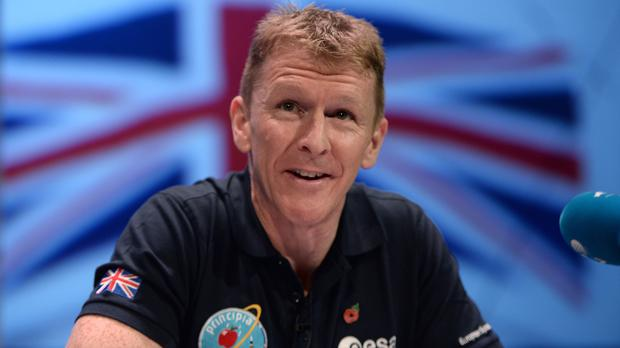 Tim Peake made the comments as part of a live video call with teachers from the UK, Norway and Poland