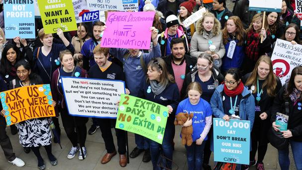 Junior doctors are set to stage a full walkout later this month