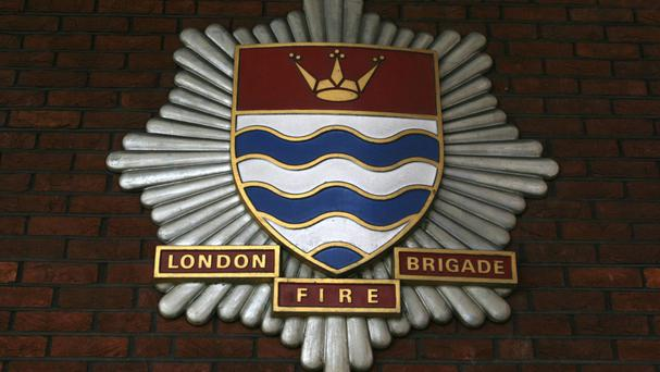 London Fire Brigade despatched 58 firefighters in eight fire engines to the scene