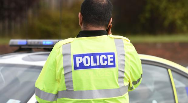 The bodies of two people were found at a house in Lincolnshire
