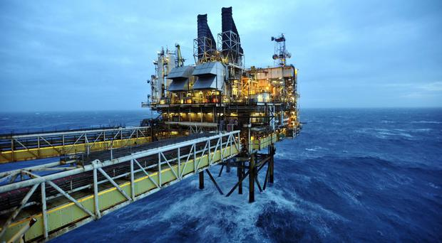The entire 447-strong workforce on BP's ETAP platform is being drug-tested following the discovery of the syringe in the Safe Caledonia Flotel on Friday