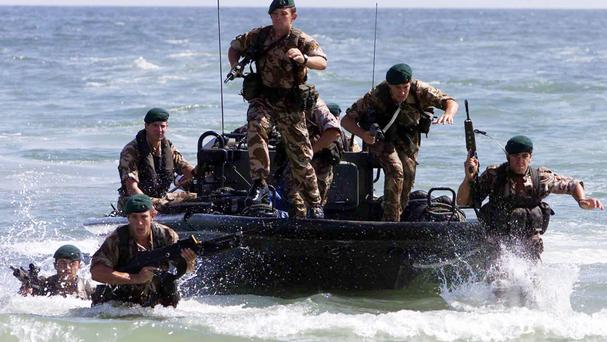 Britain has only been able to meet its Nato target for defence spending by