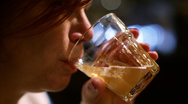 Scientists found an increased risk of stomach cancer for people drinking three or more alcoholic drinks a day