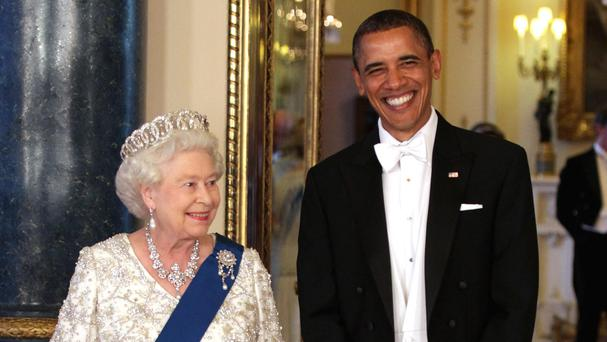 The Queen is to host US President Barack Obama and his wife for lunch at Windsor Castle