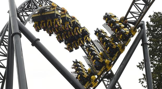Five people were seriously injured on The Smiler ride at Alton Towers in Staffordshire last June
