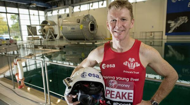 As participants prepare to pound the capital's streets, British astronaut Tim Peake will aim to complete the route while strapped to a treadmill at the International Space Station