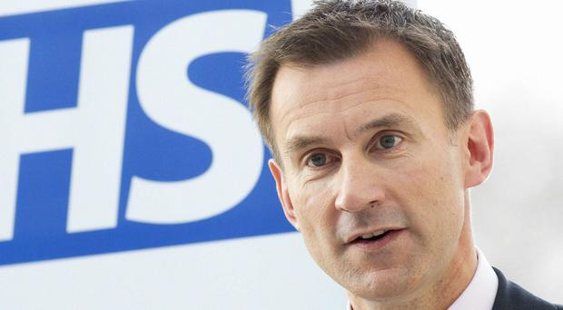 Jeremy Hunt wants to meet the British Medical Association for talks