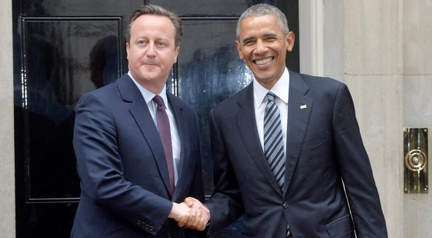 Prime Minister David Cameron, pictured with US president Barack Obama at Downing Street, will get the chance to stress the Remain camp's view that Britiain should stay in the EU