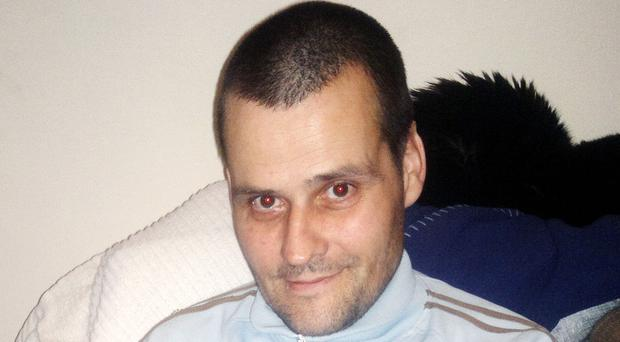 Matthew Higgins, 49, pictured, whose body was found in a back garden in May Street, Hull, along with that of Daniel Hatfield, 52 (Humberside Police/PA)