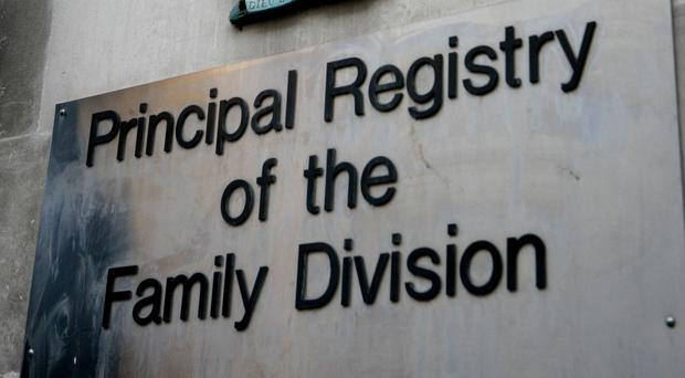 Social services bosses complained that a father harassed staff and placed material on the internet identifying his son who has been placed for adoption