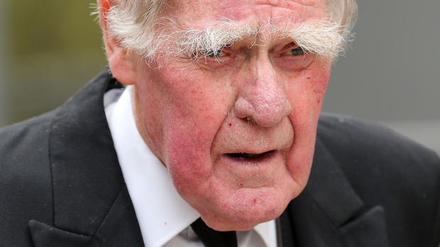 Bernard Ingham said South Yorkshire Police officers had told him and and the then Prime Minister Margaret Thatcher that a 'tanked up mob' of Liverpool fans were to blame and that is the version of events he has stuck with