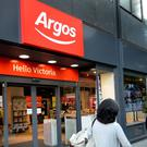 The exceptional impairment charge relates to Argos's prior ownership under Great Universal Stores