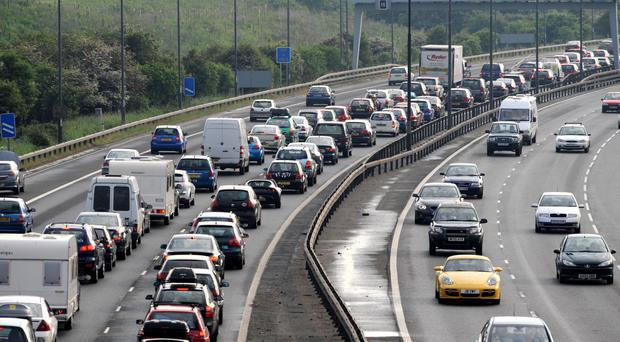 Heavy traffic is expected on the roads over the coming bank holiday weekend