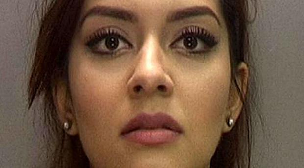 Ayesha Ahmed has been jailed for three months after she tried to dodge a speeding fine (West Midlands Police/PA Wire)