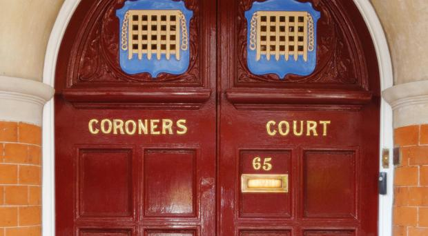 The inquest is taking place at Westminster Coroner's Court