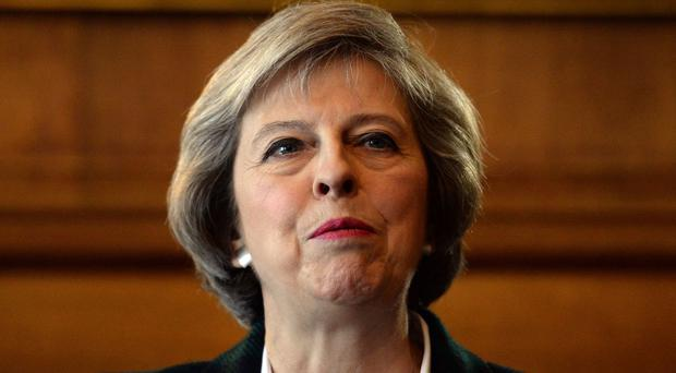 Home Secretary Theresa May had said the refugees could not come to the UK