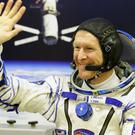 Tim Peake said he was 'looking forward' to giving the rover a test drive